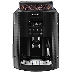 Krups - Black 'Espresseria' fully automatic bean to cup coffee machine EA8150