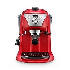 DeLonghi - Red Motivo traditional pump espresso machine