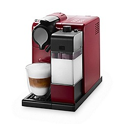 Nespresso - Glam red 'Lattissima Touch' coffee machine by DeLonghi EN550.R