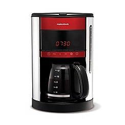 Morphy Richards - Red accents digital filter coffee 162005
