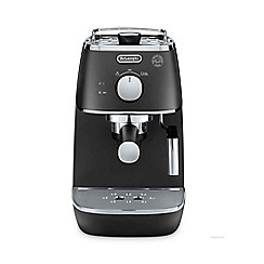 DeLonghi - Black 'Distina' espresso coffee machine ECI341.BK