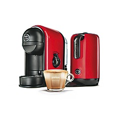 Lavazza - 'Minu Caffe Latte' red coffee machine 10080949