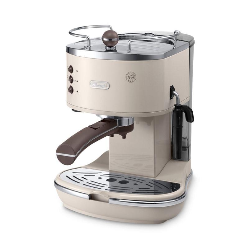 DeLonghi Icona Vintage traditional pump espresso machine ECOV311.BG - Misc - Espresso & cappuccino - cream