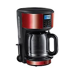 Russell Hobbs - 'Legacy' filter coffee maker in red 20682