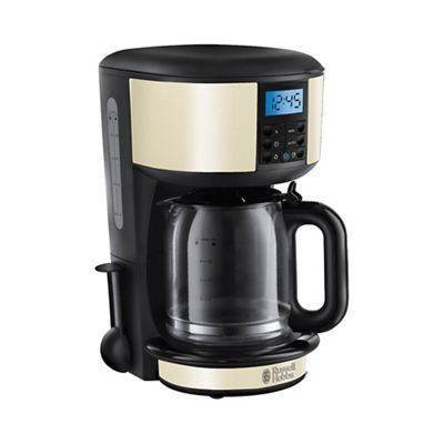 Russell Hobbs Cream Legacy filter coffee maker 20683 Debenhams