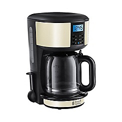 Russell Hobbs - 'Legacy' filter coffee maker in cream 20683