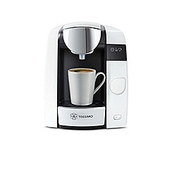 Bosch - White 'Tassimo Joy 2' espresso coffee machine TAS4504GB