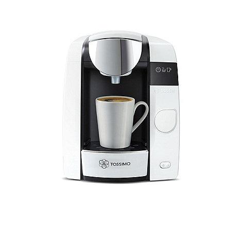 bosch white tassimo joy 2 coffee machine tas4504gb debenhams. Black Bedroom Furniture Sets. Home Design Ideas