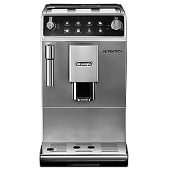 DeLonghi - Silver 'Autentica' bean to cup coffee machine ETAM29.510.SB