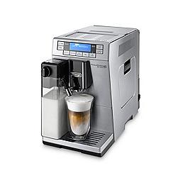 DeLonghi - Silver primadonna xs deLuxe coffee Machine ETAM36.365.M