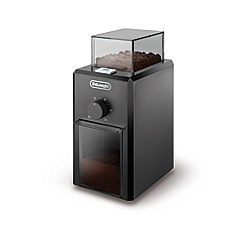DeLonghi - Black burr coffee grinder KG79