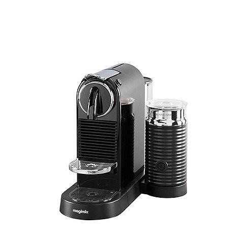 nespresso black u0027citiz u0026 milku0027 coffee machine by magimix