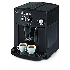 DeLonghi - Black Magnifica Bean to Cup Coffee Machine ESAM4000