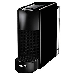 Nespresso - Black 'Essenza Mini' coffee machine by Krups XN110840