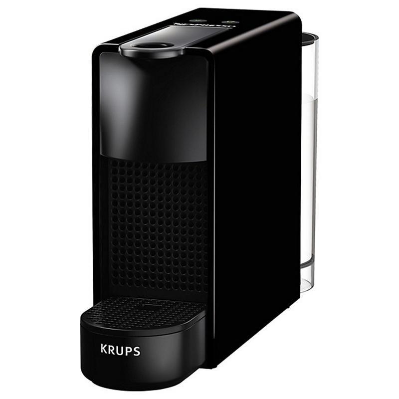 nespresso black essenza mini coffee machine by krups xn110840. Black Bedroom Furniture Sets. Home Design Ideas