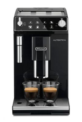 DeLonghi Autentica bean to cup black coffee machine ETAM29.510B Debenhams