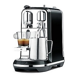 Nespresso - Black 'Creatista' coffee machine by Sage