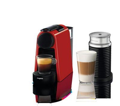 nespresso red 39 essenza mini 39 bundle coffee machine by magimix 11373 debenhams. Black Bedroom Furniture Sets. Home Design Ideas