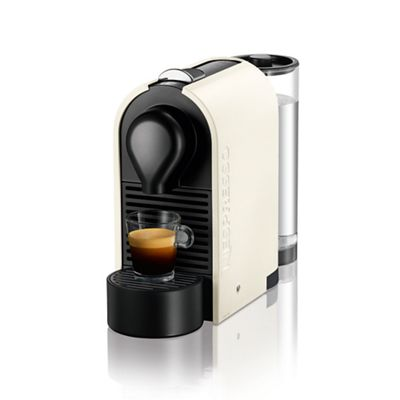 Krups Coffee Maker Debenhams : Nespresso U White coffee machine by Krups XN250140 Debenhams