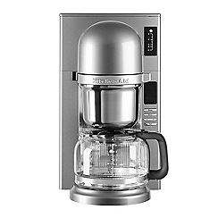 KitchenAid - Pour over filter contour silver coffee machine 5KCM0802BCU