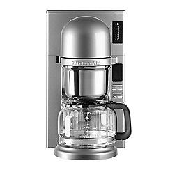 KitchenAid - Pour over filter contour silver coffee machine 5KCM0802BCU