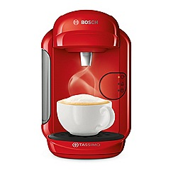 Tassimo by Bosch - Red 'Vivy 2' bean to cup coffee machine TAS1403GB
