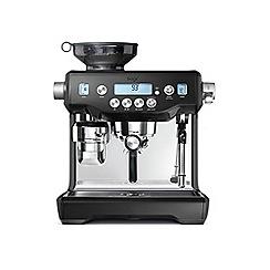 Sage by Heston Blumenthal - The oracle black coffee machine BES980BKS