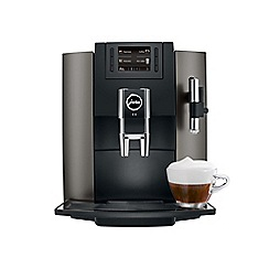 Jura - E8 dark inox bean to cup coffee machine 15157