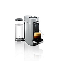 Nespresso - Silver Vertuo Plus M600 titan coffee machine by Magimix 11386