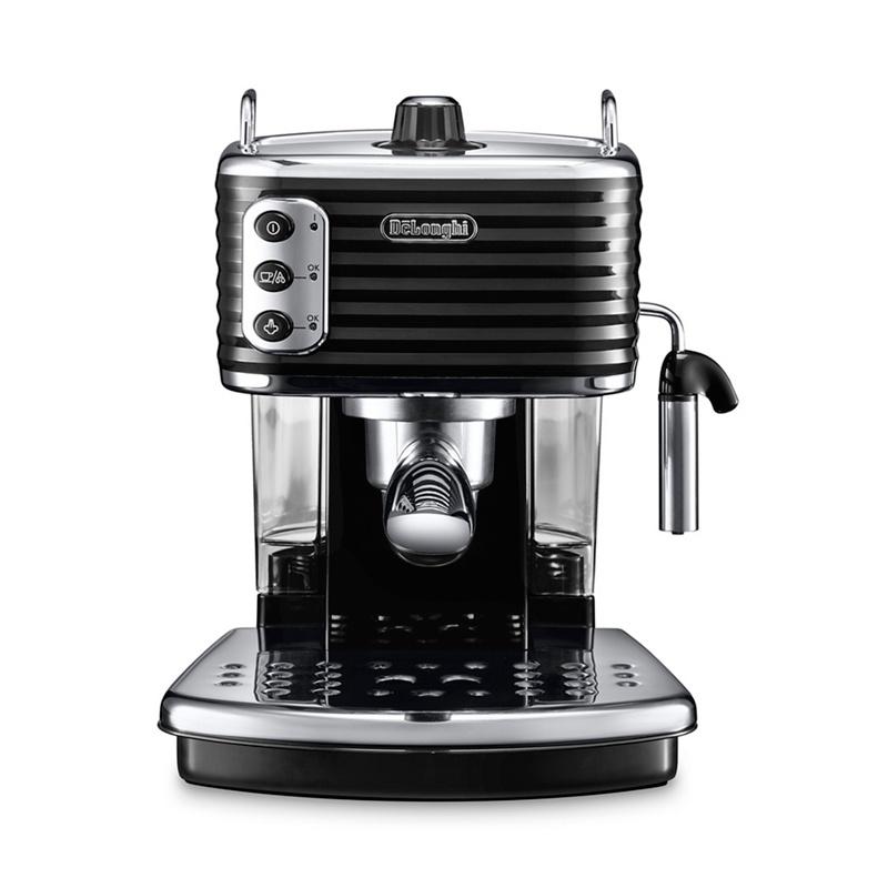 DeLonghi Black Scultura traditional pump espresso machine ECZ351.BK - Misc - Espresso & cappuccino