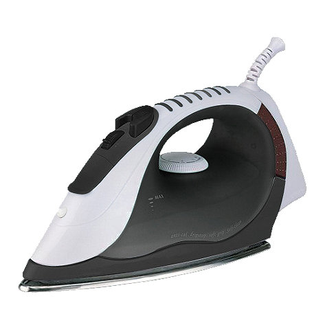 Debenhams - White 2200W steam iron S12BLK
