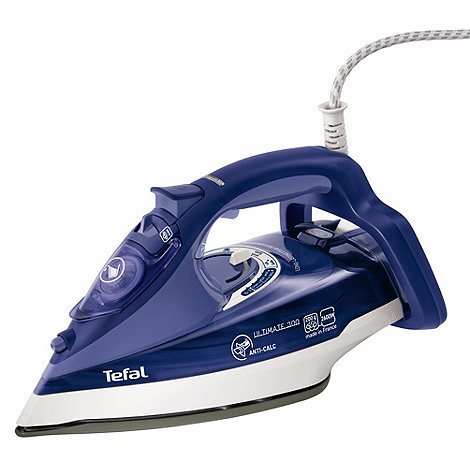 Tefal - Blue ultimate anti-calc steam iron FV9630