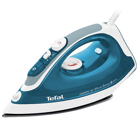 Tefal - Blue FV3740 'Maestro' steam iron