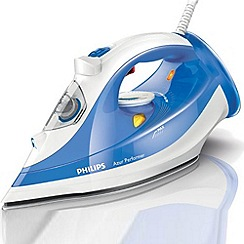Philips - Light blue Performer steam iron GC3810/20