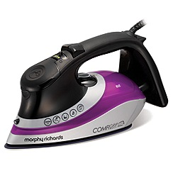 Morphy Richards - Comfigrip steam iron - purple 301015