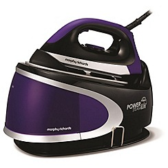 Morphy Richards - Black power steam elite steam generator iron 330021