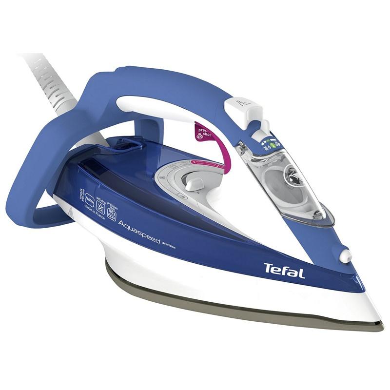 Tefal Steam Iron ~ Tefal blue aquaspeed steam iron fv