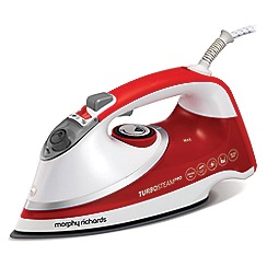 Morphy Richards - 'TurboSteam Pro' Ionic steam iron 303116