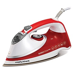 Morphy Richards - Turbosteam pro pearl ceramic steam iron 303124