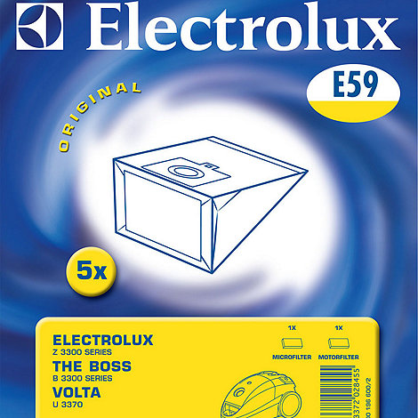 Electrolux - vacuum cleaner bags - E59