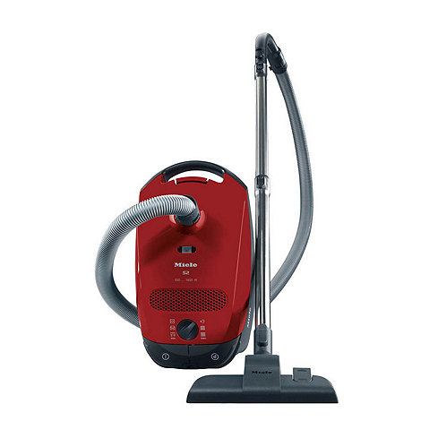 Miele - Autumn Red cylinder vacuum cleaner S2111