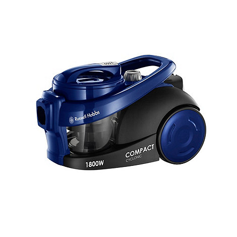 Russell Hobbs - Compact Cyclonic bagless cylinder vacuum cleaner 18521