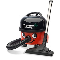 Numatic - Red 'Henry' cylinder vacuum cleaner