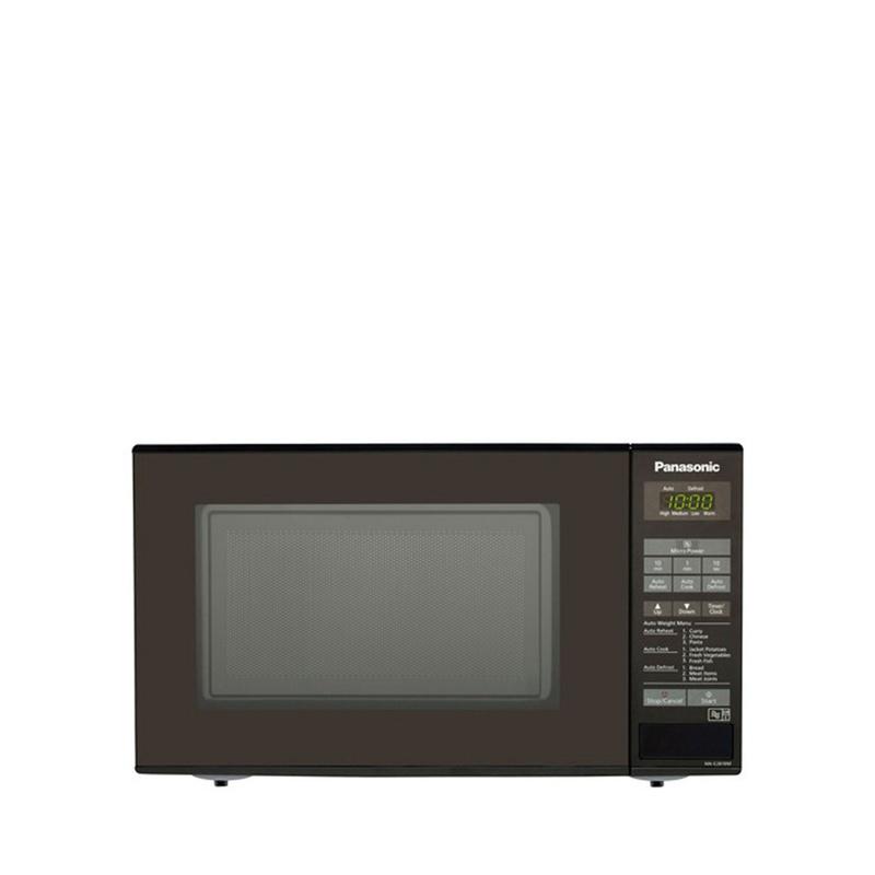 Panasonic Black 20L Compact Microwave Oven NN-E281BMBPQ