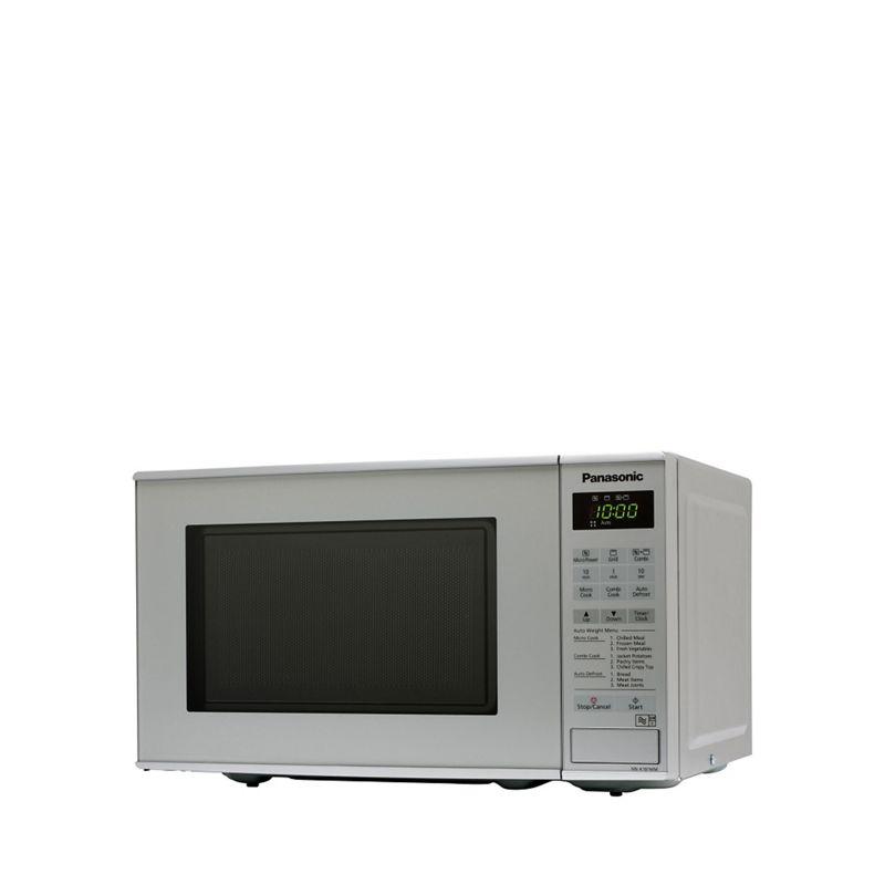 Panasonic Silver microwave with grill NN-K181MMBPQ