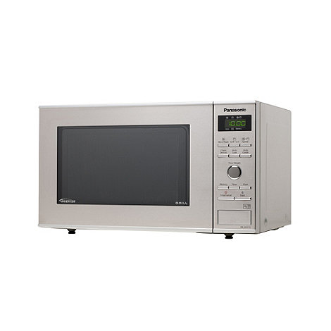 Panasonic - Silver +NN-GD371SBPQ+ microwave