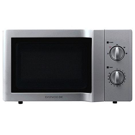 Daewoo - KOR6L65SL 20L Silver Microwave