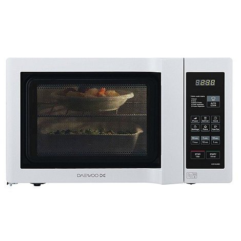 Daewoo - KOR6L6BD Duo Plate White Microwave