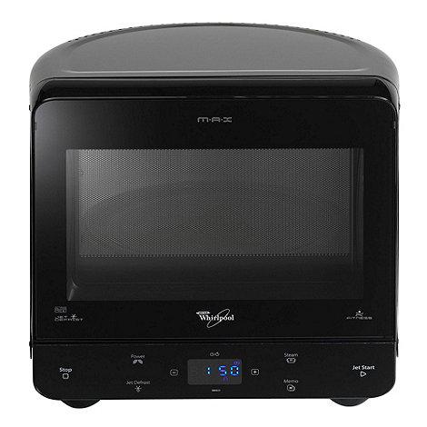 Whirpool - Whirlpool MAX35/BL black 13 litre microwave
