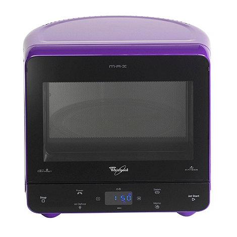 Whirpool - Whirlpool MAX35/PRL purple 13 litre microwave
